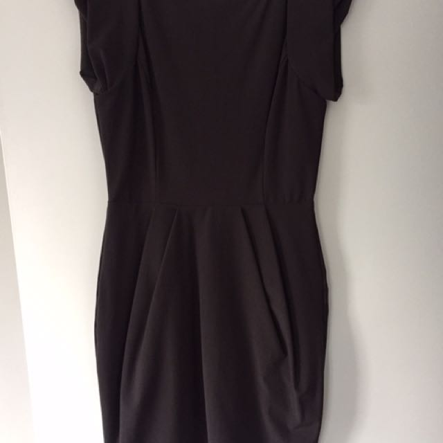 Sheike Grey Dress Size 12