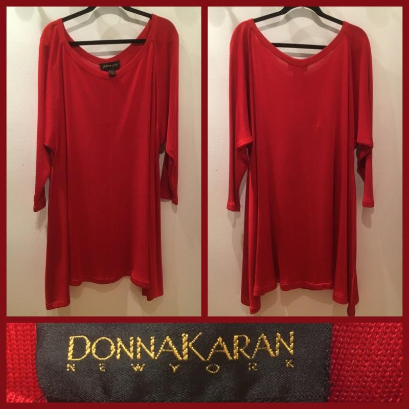 Size L - Donna Karan Signature - Vintage Dress