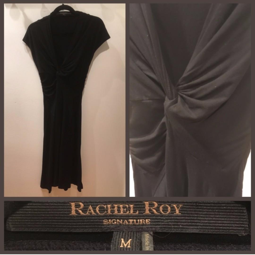 Size M - Rachel Roy faux wrap dress