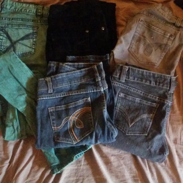 skinny jean set size 6/8