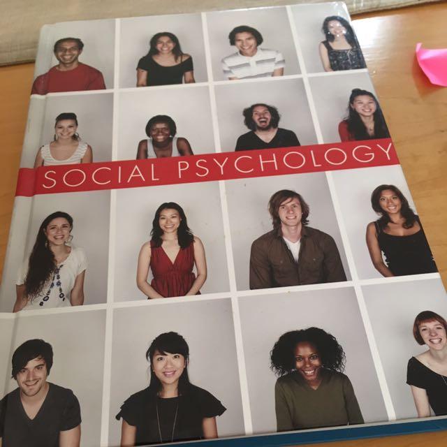 Social Psychology By Sanderson And Safdar