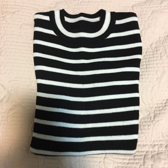 Striped Knit Top (S)