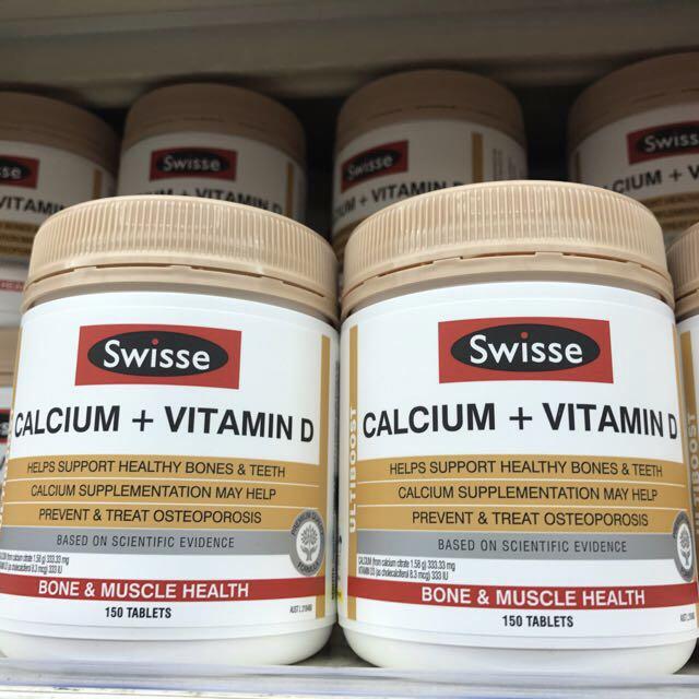 Swisse CALCIUM +VITAMIN D