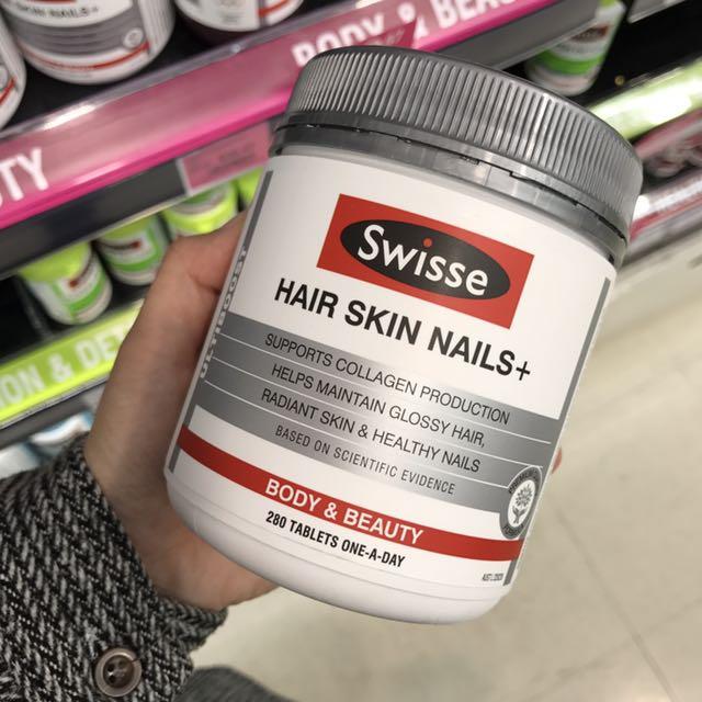 SWISSE HAIR SKIN NAILS 膠原蛋白