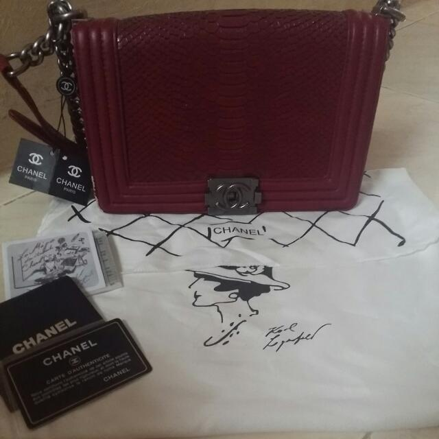 Tas Chanel Not Auth