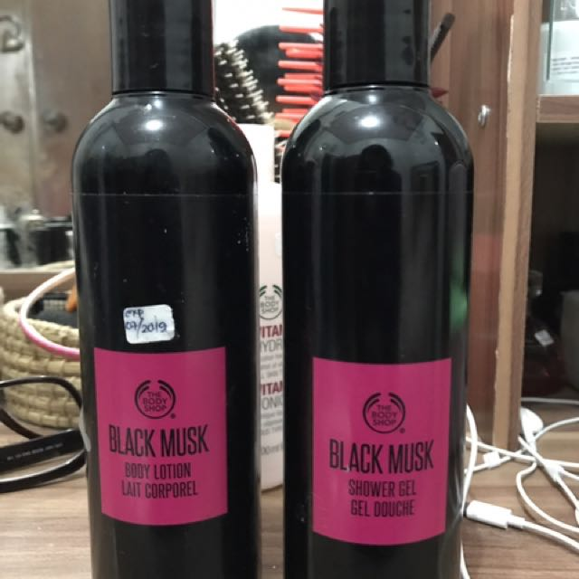 The Body Shop Shower Gel and Body Lotion (Take All)