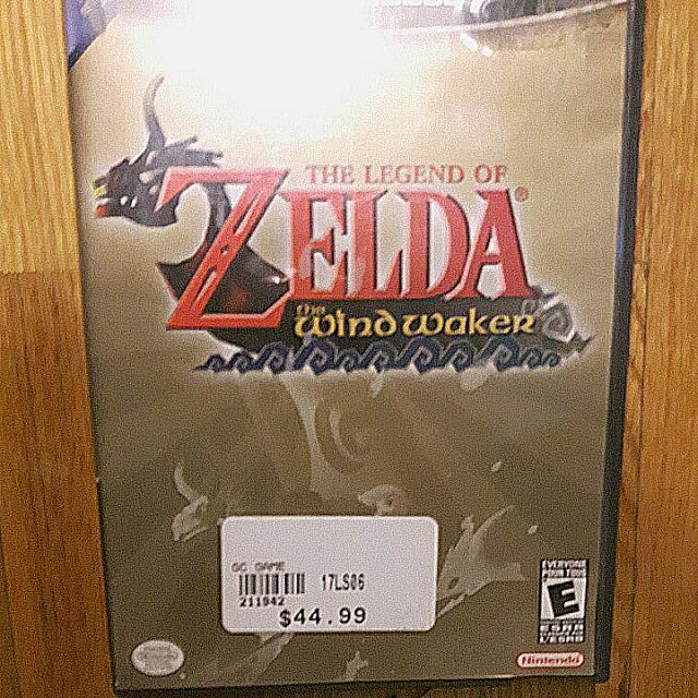 The Legend of Zelda Winx Waker Game cube