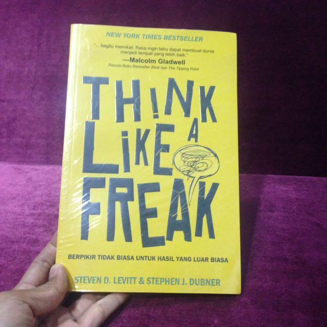 THINK LIKE A FREAK BOOK