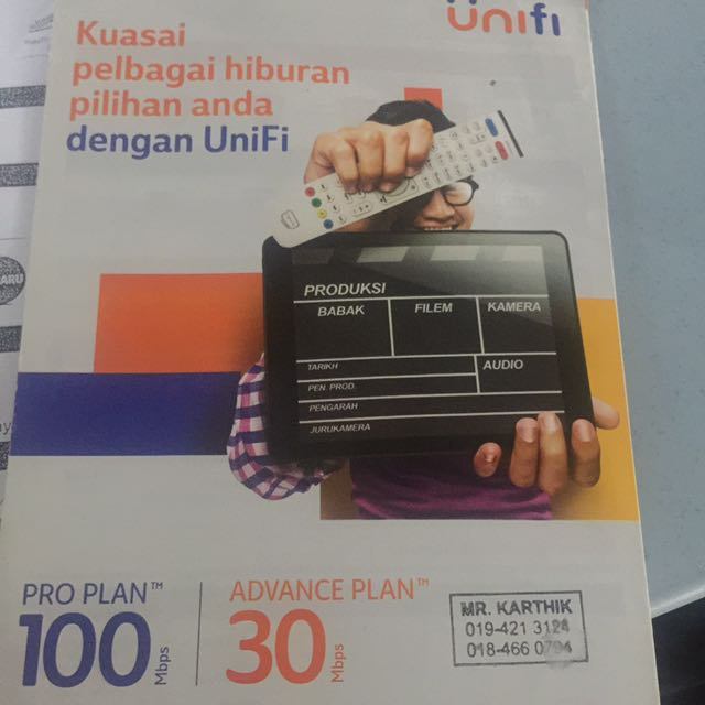 TM UNIFI AND STREAMIC AND MAXIS HOME, Electronics, Others on Carousell