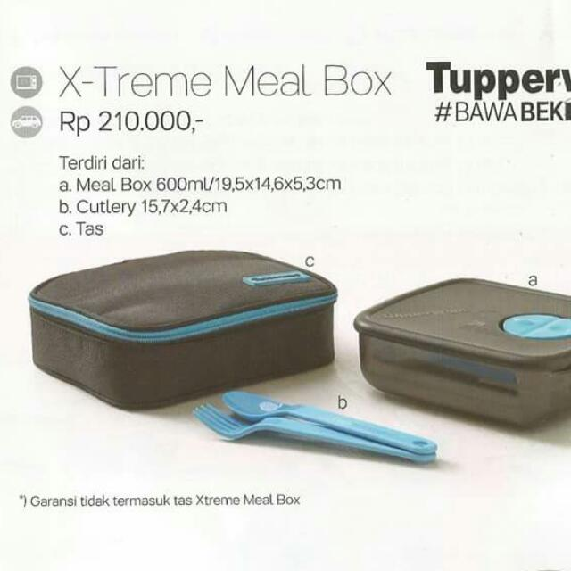 Tupperware - Extreme Meal Box