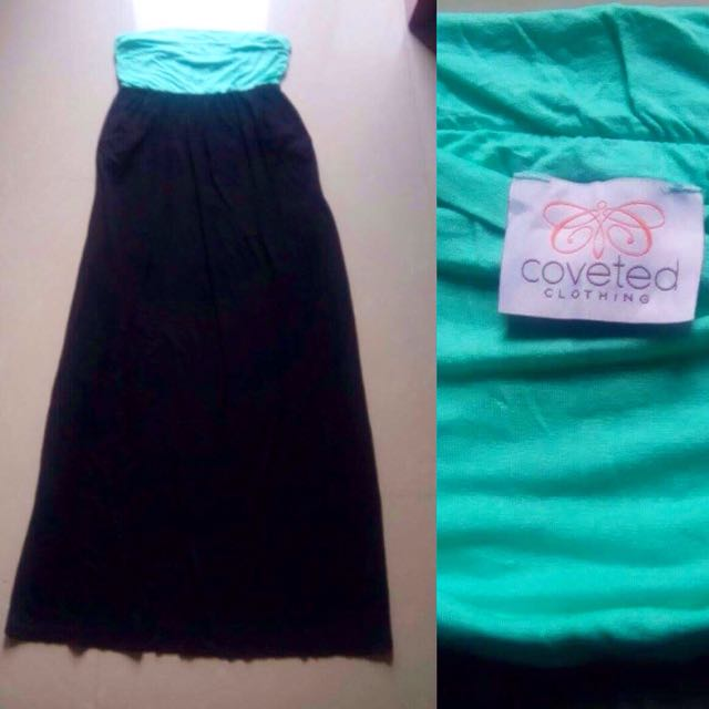 Two-tone Maxi (tube) Dress