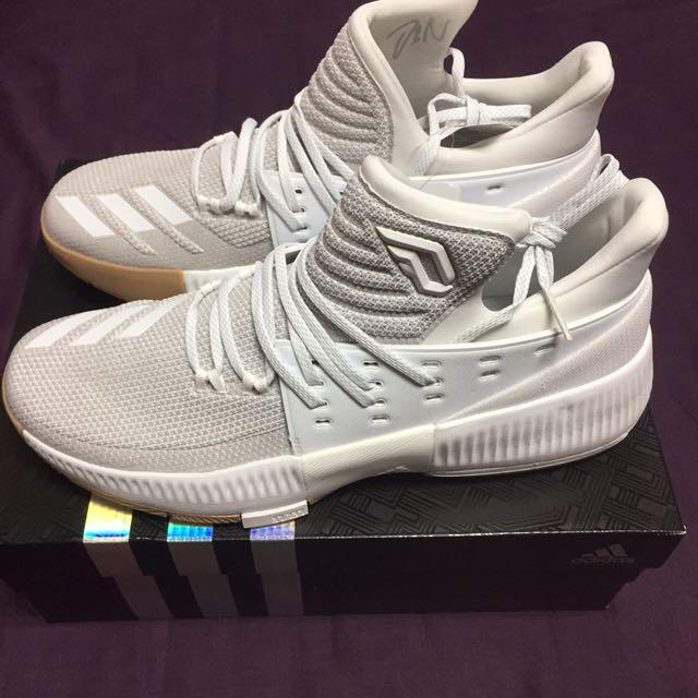 US10 adidas D Lollards 3 籃球鞋