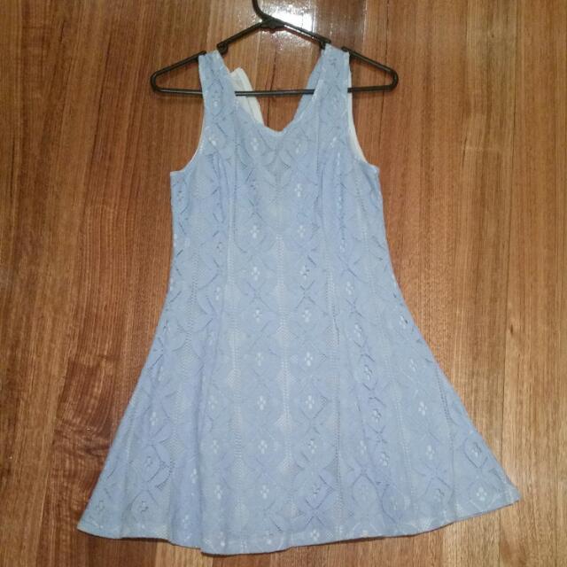 Valleygirl Blue Dress