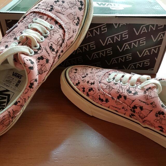 3e638b38c9 Vans Snoopy Peaches N  Cream