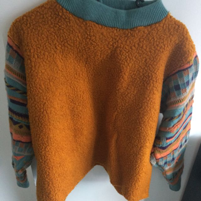 Vintage Mustard Yellow Jumper