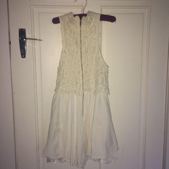 White Mose Dress