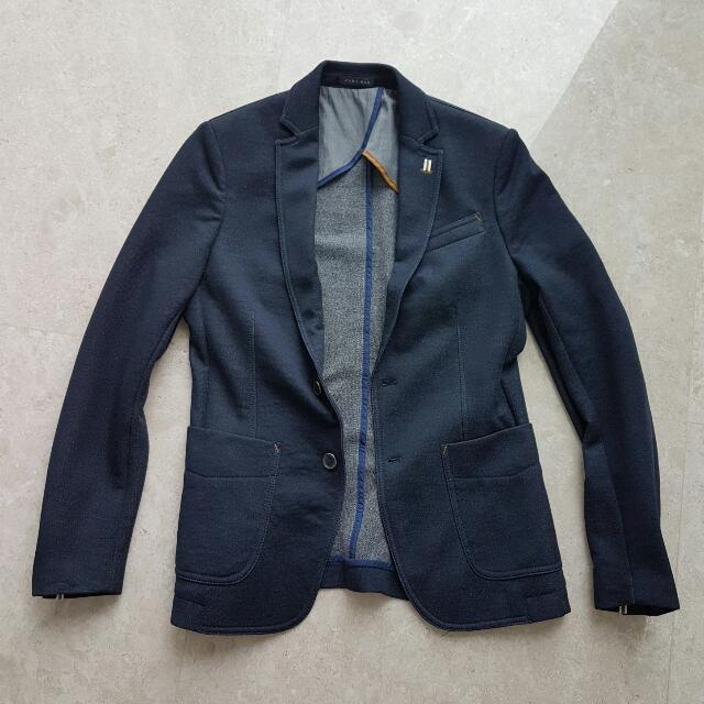 Zara Black Blazer Jacket