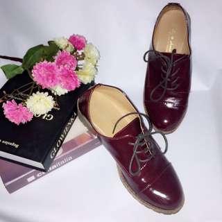 免運&二手 紅色漆皮鞋 #五百元好女鞋