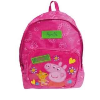 現貨!香港進口~ 正版 Peppa pig 佩佩豬輕量兒童背包