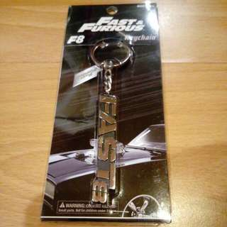 Fast and Furious 8 Limited Edition Keychain ( Fast 8 )