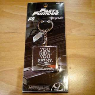 Fast and Furious 8 Limited Edition Keychain ( You Ride. You Fight. )