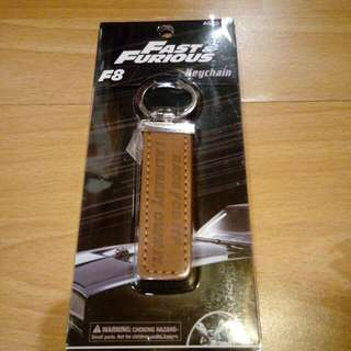 Fast and Furious 8 Limited Edition Keychain ( Race For It ? I Already Own It . )