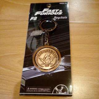 Fast and Furious 8 Limited Edition Keychain ( F&F )