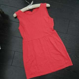 Theory Coral mini dress.  A-line. Size M