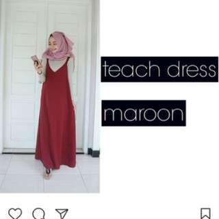 Teach Dress Maroon AFRF (BARU)