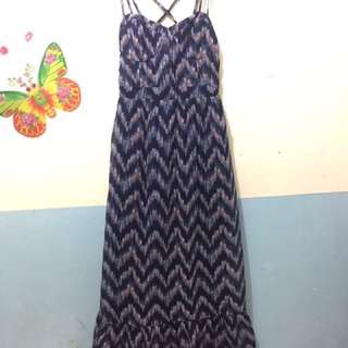 American eagle long dress