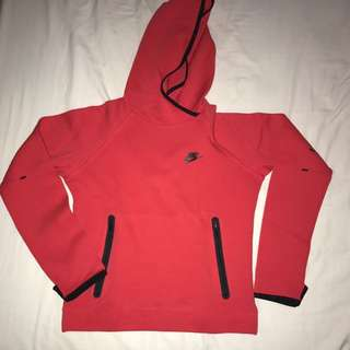 Red Nike Hoodie - Size Large (runs tight)