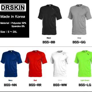 Dr Skin Running Shirt Dri Fit Top