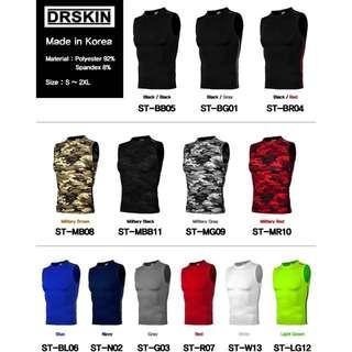 Dr Skin Compression Tights Singlet Vest