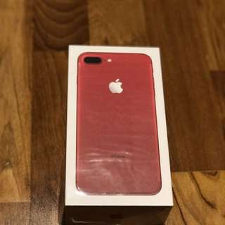 Iphone 7 Plus Red 128GB (Special Edition)