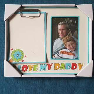 """I Love Daddy"" Frame"