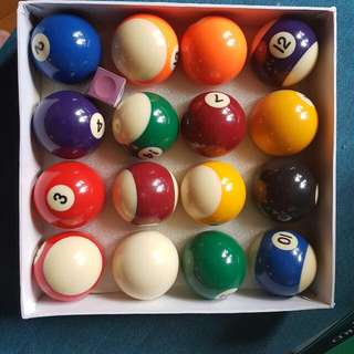 Sport Craft 2 Inch Billiard Balls
