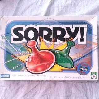 ⭕Sorry Board Game