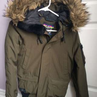 TNA Olive Winter Jacket