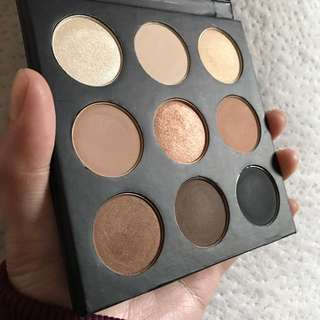 Studio Makeup On The Go Eyeshadow Palette In Warm Up