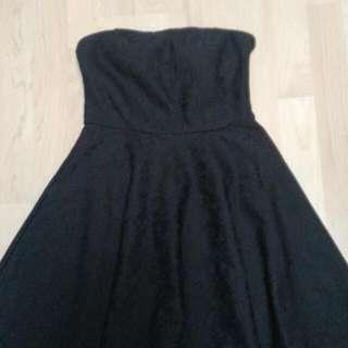 Black Floral Lace Summer/Cocktail Dress