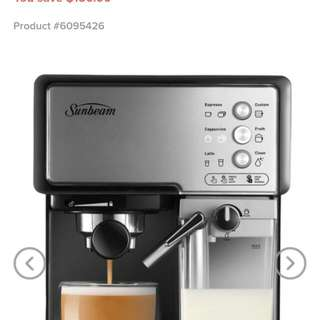 Sunbeam Coffee Machine