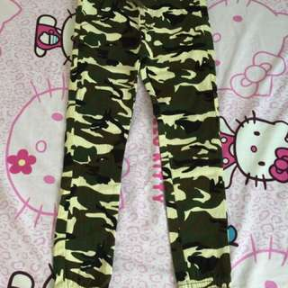 Camouflage Stretchable Pants
