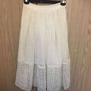 Portmans White Skirt