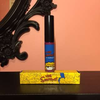 BRAND NEW/NEVER USED MAC Simpsons Collection Lipgloss