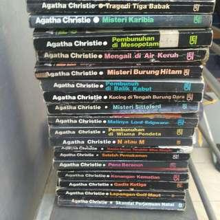 Novel Agatha Christie Cetakan Lama
