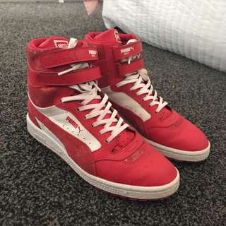 Puma Red Sky Tops Size 7