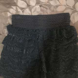 Size 8-10 Lacey Shorts