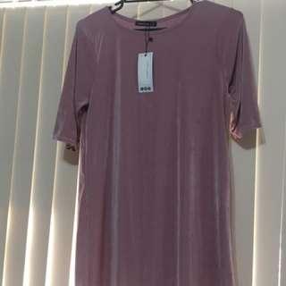Size 12 Boohoo Tshirt Dress