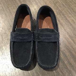 Brand New Zara Navy Suede Shoes Size 26