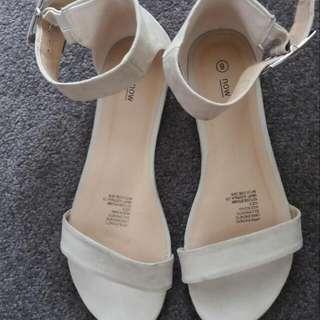 Beige Sandal Size8